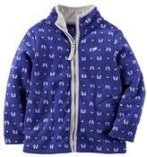 Carter's Little Girls' Zip Microfleece Jacket