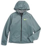 Nike Boy's 'Elite' Therma-Fit Fleece Hoodie