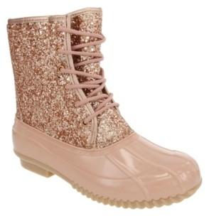 Sugar Women's Skipper Glitter Duck Boots Women's Shoes