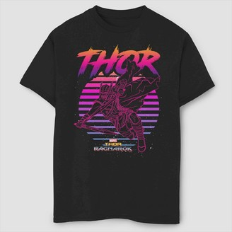 Marvel Boys' Marve 80s Thor Short Seeve Graphic T-Shirt -