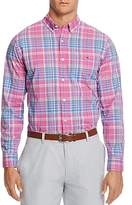 Vineyard Vines Coral Cliff Plaid Tucker Slim Fit Button-Down Shirt
