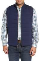 Peter Millar Quilted Wool & Cotton Full Zip Vest