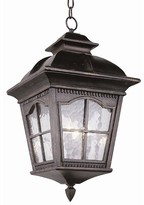 "Tucker 3-Light Hanging Lantern Charlton Home Size: 21.25"" H x 11"" W"