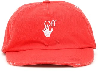 Off-White Logo Embroidered Baseball Cap