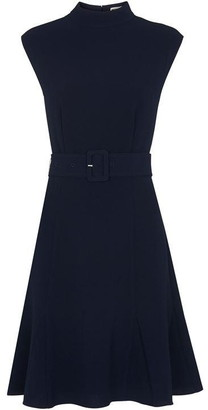 Whistles Sleeveless Belted Dress