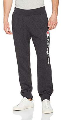 Champion Men's Rib Cuff Authentic Pants Sports Trousers,(Size: Large)