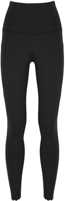 Varley Wesley Black Panelled Leggings