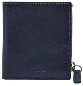 Fossil Philip Coin Pocket Bifold Wallet Black