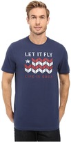 Life is Good Let It Fly Flag Crusher Tee