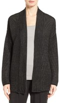 Eileen Fisher Women's Silk Blend Ottoman Knit Cardigan