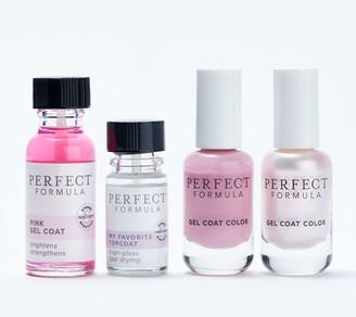 Perfect Formula 4-Piece Gel Color & Treatment Manicure Kit