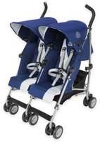 Maclaren Twin Triumph Double Stroller in Blue/Silver