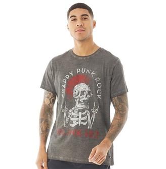 Blend Mens Slim Fit T-Shirt Phantom Grey