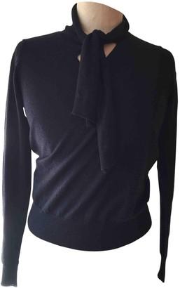 Dries Van Noten Black Wool Knitwear