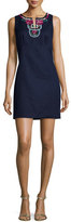Laundry by Shelli Segal Sleeveless Embellished Sheath Dress, Inkblot