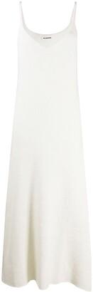 Jil Sander Mid-Length Knit Slip Dress