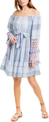 Taj By Sabrina Crippa Off-The-Shoulder Mini Dress