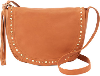 Hobo Maverick Leather Saddle Bag