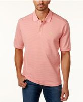 Tommy Bahama Men's Big & Tall Emfielder Piqué Stripe Polo