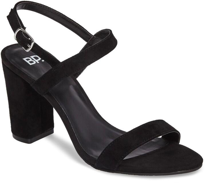 BP Lula Block Heel Slingback Sandal