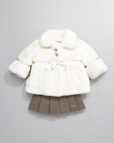 Armani Junior Faux-Fur Coat
