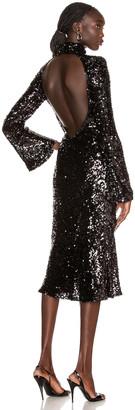 Galvan Legato Dress in Black | FWRD