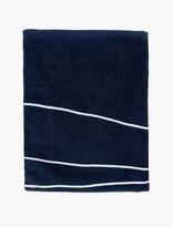Saturdays Surf NYC Navy Printed Cotton Towel