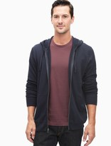 Splendid Space Dye Active Zip Up Hoodie