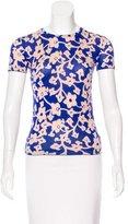 Diane von Furstenberg Gelassia Silk & Cashmere-Blend Top