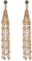 Natasha Accessories Beaded Tassel Earrings