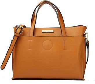 LeVian Suzy Saffiano Faux Leather Satchel