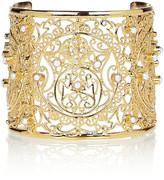 Isharya Moon Bali 18-karat gold-plated cuff