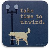 "Bed Bath & Beyond ""Take Time to Unwind"" Coaster"