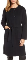 Eileen Fisher Women's Boiled Wool Blend Wrap Coat