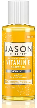 Jason Maximum Strength Vitamin E 45,000 I.U. Pure Natural Skin Oil 59Ml