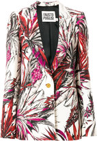 Fausto Puglisi tropical print blazer