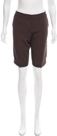 Mid-Rise Knee-Length Shorts