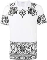 Alexander McQueen Skull border printed t-shirt