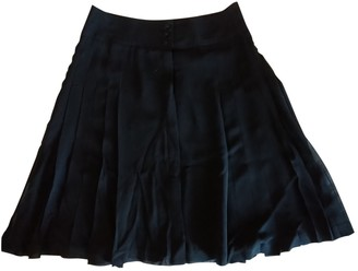 Karl Lagerfeld Paris Pour H&m Black Silk Skirt for Women