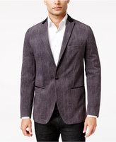 INC International Concepts Men's Jasper Slim-Fit Sharkskin Blazer, Only at Macy's