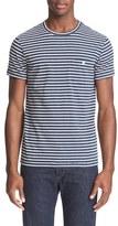 Todd Snyder Men's Stripe Pocket T-Shirt