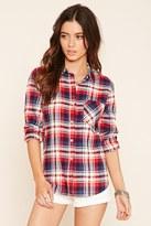 Forever 21 Plaid Flannel Shirt