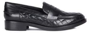 Geox Brogue 18 Leather Loafers