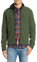 Ibex Men's 'Scout Jura' Merino Wool Blend Zip Jacket