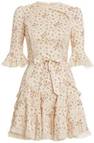 Zimmermann Freja Trim Flutter Dress