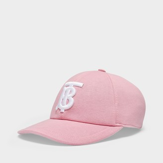 Burberry Base-Ball Cap In Pink Cotton