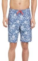 Vineyard Vines Men's Hibiscus Dot Board Shorts