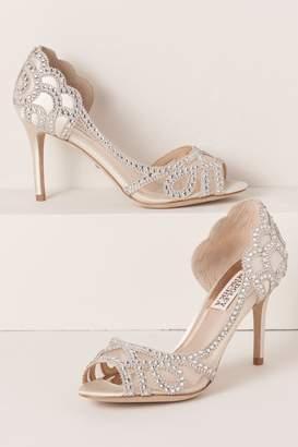 Badgley Mischka Marla Peep-Toe Heels