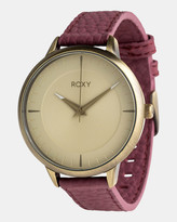 Roxy Womens The Avenue 40mm Leather Watch