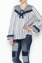 Sugar Lips Margot Stripe Knit Top
